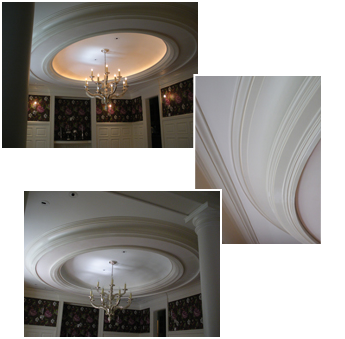 Dome and Ceiling Molding